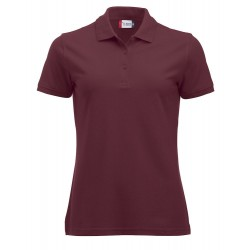 POLOSHIRT CLIQUE MANHATTAN LADIES 028251 38 BORDEAUX