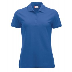 POLOSHIRT CLIQUE MANHATTAN LADIES 028251 55 ROYALBLUE
