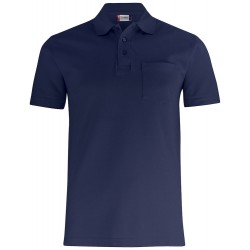 POLOSHIRT CLIQUE BASIC POLO POCKET 028255 580 DARK NAVY
