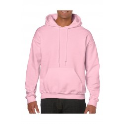 SWEATER GILDAN HOODED HEAVYBLEND 18500 LIGHT  PINK