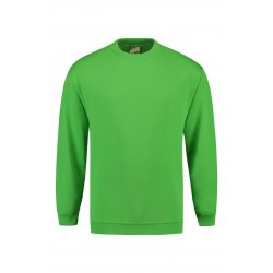SWEATER L&S 3200 SET-IN CREWNECK LIME