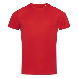 T-SHIRT STEDMAN STE8000 CRIMSON RED
