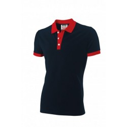 POLOSHIRT TRICORP BICOLOR 201002 PBF210 NAVY MET ROOD